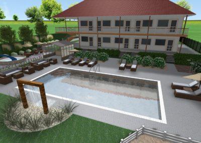 Apartamenty z basenem
